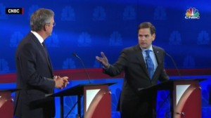 CNBC Debate Rubio Bush